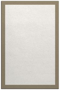 boundary custom rug
