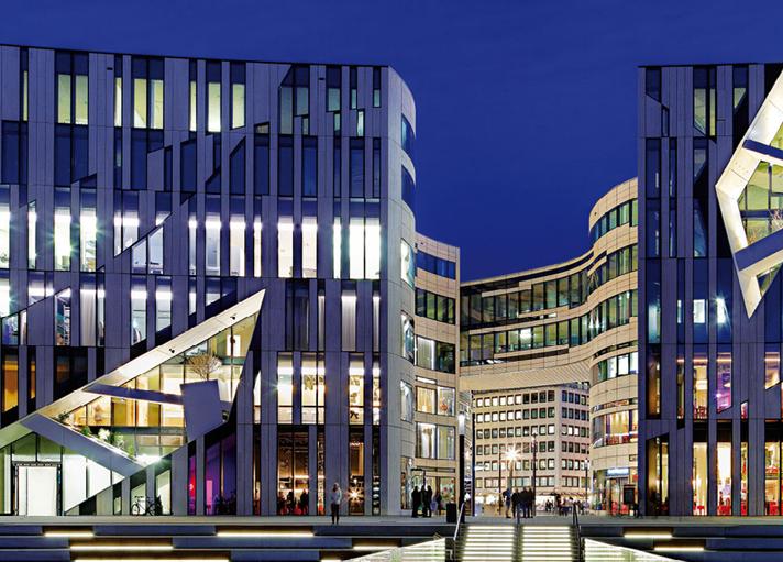 Kö-Bogen facade
