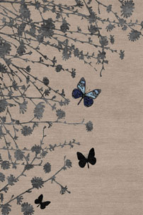 Morning Meadow - designer rug