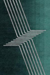 Flying Lines - designer rug