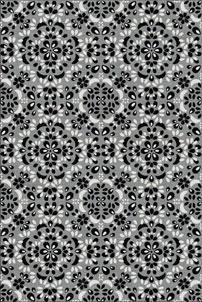 Onyx Cluster - designer rug