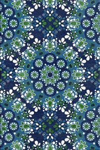 Gemstone Delight - designer rug