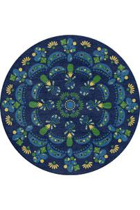 Sapphire Dream - designer rug