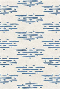 River - Kawa 川 - designer rug