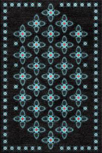 Teasel Black - designer rug