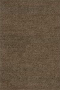 Plain Mid Brown - designer rug
