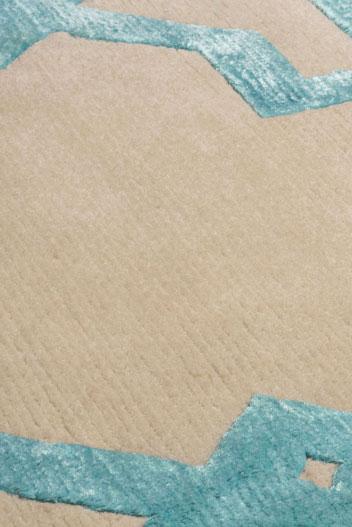 Moroccan Teal - rug 2