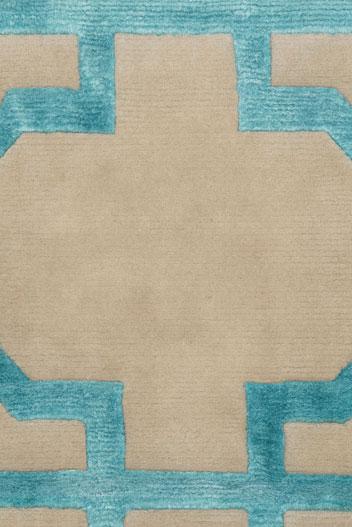 Moroccan Teal - rug 3