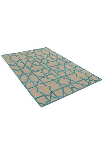 Moroccan Teal - rug 4