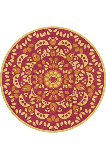 Sunburst rug 1