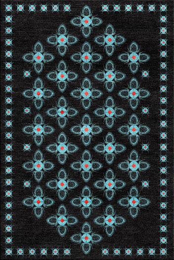 Teasel Black rug 1