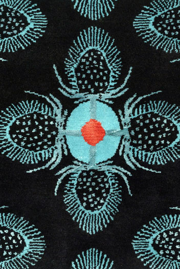 Teasel Black - rug 3