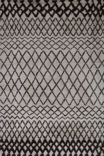 Persian Knotted rug 1
