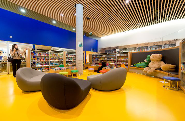 Birmingham's children's library