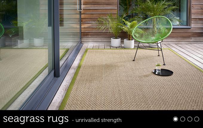custom natural rug