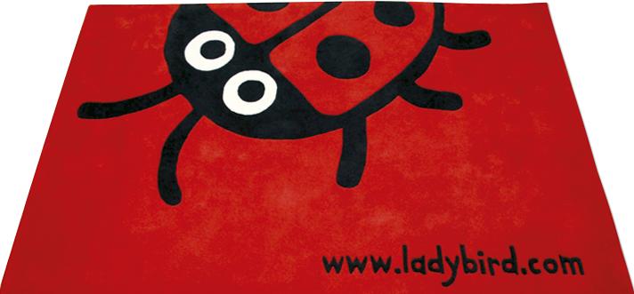 ladybird rug 2