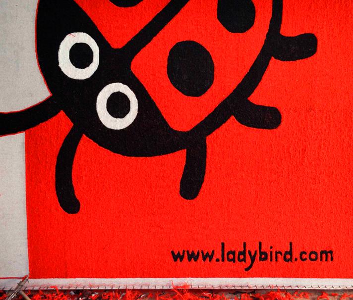 ladybird rug frame