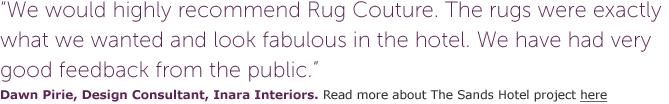 rug couture trade intro