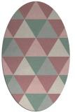 rug #1148939 | oval rug