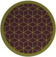 rug #1000001 | round purple borders rug