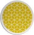 rug #1000081 | round yellow borders rug