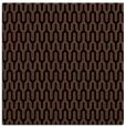 rug #1011561 | square brown retro rug