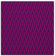 rug #1011581 | square blue graphic rug