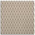 rug #1011697 | square mid-brown graphic rug
