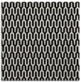 rug #1011829 | square white retro rug
