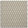 rug #1011853 | square white retro rug