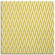 rug #1011865 | square yellow rug