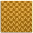 rug #1011869 | square yellow graphic rug
