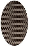 rug #1011921   oval beige popular rug