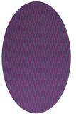 rug #1011993   oval pink graphic rug
