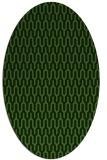 rug #1012191 | oval retro rug