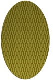 rug #1012241 | oval light-green rug