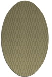 rug #1012245 | oval light-green rug