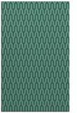 rug #1012329 |  blue-green retro rug