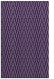 rug #1012373 |  blue-violet graphic rug
