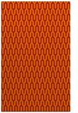 rug #1012525 |  orange graphic rug