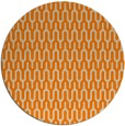 rug #1012637 | round orange retro rug