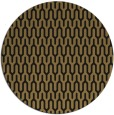 rug #1012665   round brown retro rug