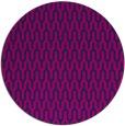 rug #1012673 | round pink graphic rug