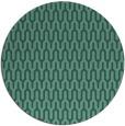 rug #1012693   round blue-green graphic rug