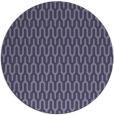 rug #1012729   round blue-violet retro rug