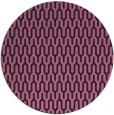 rug #1012733 | round blue-violet retro rug