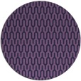 rug #1012737 | round purple retro rug
