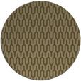 rug #1012753   round brown retro rug
