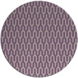 rug #1012817 | round purple retro rug