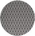 rug #1012849 | round orange graphic rug